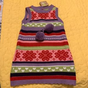 Crazy 8 Girls Size 18-24 months Sweater dress NWT
